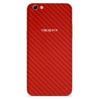 9Skin - Premium Skin Protector Case Oppo F3+ Plus - 3M Red Carbon