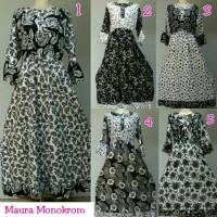 Gamis rayon murah / baju hamil / baju menyusui / maura daster