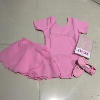 Baju Ballet Anak Paket E (baju,stocking,sepatu ballet, rok chiffon)