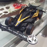 mainan tamiya mini 4wd auldey black avante mk3/ III nero modified