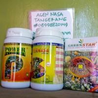 Paket Pertanian Organik Pupuk Padat Nasa (Super + Power + Greenstar)