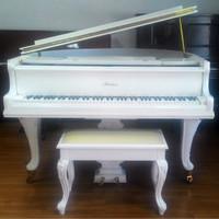 piano baby grand putih white-SOLD