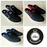 Sepatu Slop Adidas Hitam Abu/Sandal Slop Pria Hitam/Sepatu Slop Hitam