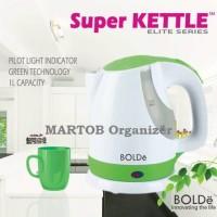 BOLDe Pemanas Air 1L Water Heater Super Kettle Pemasak Teko Listrik