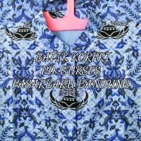 JUMBO Baju Seragam Batik Kemeja KORPRI katun full furing Puring lapis