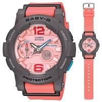 Jam Casio Baby G BGA180 pink list grey ori bm