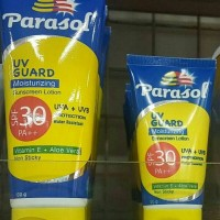 PARASOL SUNSCREEN LOTION SPF 30 sunscreen tabir surya 100gr