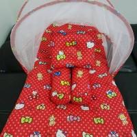 kasur kelambu bayi hello Kitty/kasur bayi karakter