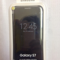 Clear View Cover Samsung Galaxy S7 Original