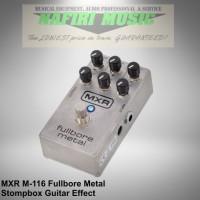 Efek Gitar MXR Fullbore Metal / MXR M-116 / MXR M116 Fullbore Metal