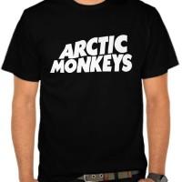 Kaos Arctic Monkeys Logo (NM86B)