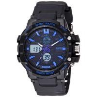 Jam tangan wanita D 35 mm SKMEI 0990 Original black blue