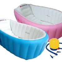 INTIME INFLATABLE BABY BATH TUB SPA BAK ANGIN MANDI ANAK BAYI BATHTUB