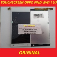LCD + TOUCH SCREEN OPPO FIND WAY U7015 WHITE ORIGINAL 901920
