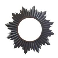 bingkai kaca cermin model matahari ukir
