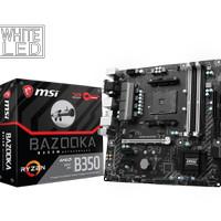 MSI B350M Bazooka (AMD B350,AM4,DDR4) Support Ryzen