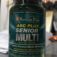 PURITAN ABC Senior Multi Vitamin Mineral 60 Tab CENTRUM USA IMPOR
