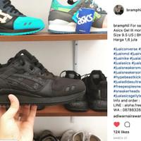 Sneakers Asics Gel III mono pack  All black