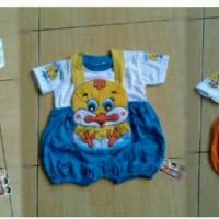 Baju setelan kodok anak gambar anak ayam