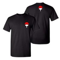 Kaos Anime Uchiha Clan Naruto Itachi Sasuke Baju Distro T-shirt S M L