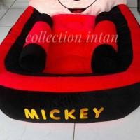 Kasur/matras bayi karakter mickey mouse