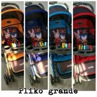 Stroller Pliko Grande With 4 in 1 Features/kereta bayi 4 fungsi