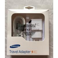 Charger samsung galaxy note 4 /s6 adaptive fast charging original 100%