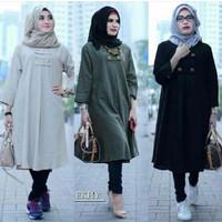 Baju Atasan Blouse Wanita Baju Muslim Blus Muslim Ekhy Tunik