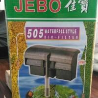 Filter aquarium aquascape Jebo 505 hang on