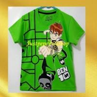 *Kaos Karakter Baju Anak Cowo Motif Kartun BENTEN 1-6th*