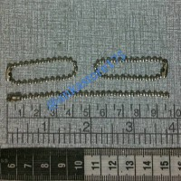 ball chain / rantai kodok / gantungan merica / biji lada