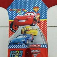 Baju Renang anak SD karakter (cars)