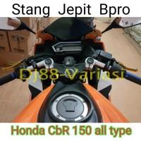 HOT stang jepit bpro cbr 150 k45g facelift led aksesoris cbr 150 varia
