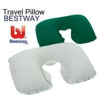 Travell Pillow Bantal Leher Bestway untuk Traveling