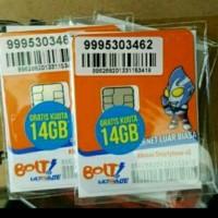 Kartu Perdana Bolt 14 GB Aktif by Order