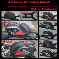 Tas Bagasi Motor Trail Motocross Touring Universal plus Cover Hujan