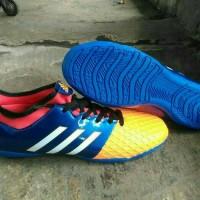 Sepatu Futsal Adidas Goletto V Boot - Blue/Orange