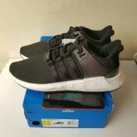 Sepatu Adidas EQT support 93/17 Black milled leather