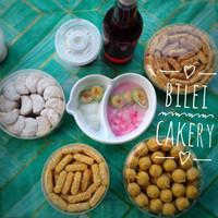 Paket Kue Kering Kastengel Nastar Putri Salju Homemade Sehat