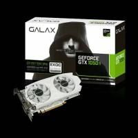 GALAX Geforce GTX 1050 Ti EXOC White Edition 4GB DDR5 - Dual Fan :l