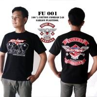 T-shirt Bikers Satria Fu Baju Motor Satria Fu Kaos Satria Fu 001