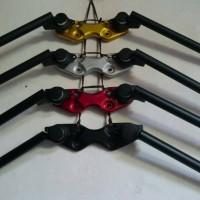 setang stang jepit ninja rr vixion scorpio xabre x-ride cb150r verza