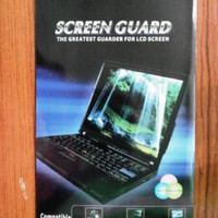 screenguard antigores laptop 15,6 inch wide pemasangan