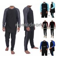 Baju Renang Pria JUMBO Tangan Panjang Ukuran 5XL (6L) Dewasa SBL-50