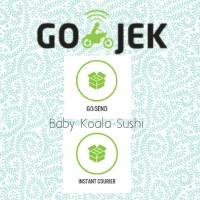 PERBEDAAN GOJEK GOSEND Instant Courier & Same Day   Baby Koala Sushi
