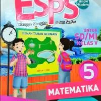 BUKU ESPS MATEMATIKA SD /MI KELAS 5 K2013 ERLANGGA