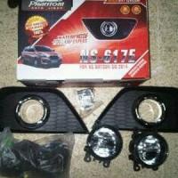 Fog Lamp / Foglamp Datsun Go / GO  Full Set with Ring Chrome