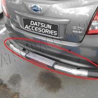 Pengaman / Tanduk / Bumper belakang Datsun GO / GO  Model Besi