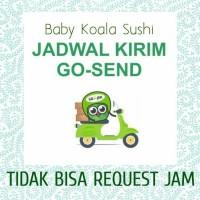 FYI GOSEND   GOJEK SERVICE Baby Koala Sushi
