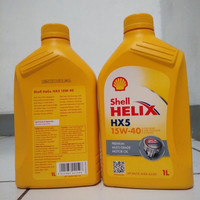 Oli Mesin Shell Helix HX5 15W-40/ Oil Mobil/Motor 1 Liter
